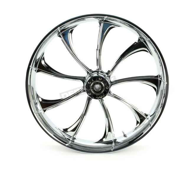 RC Components Front 23 in. x 3.75 in. One-Piece Illusion Forged Aluminum Wheel w/o ABS - 23375-9031-124C