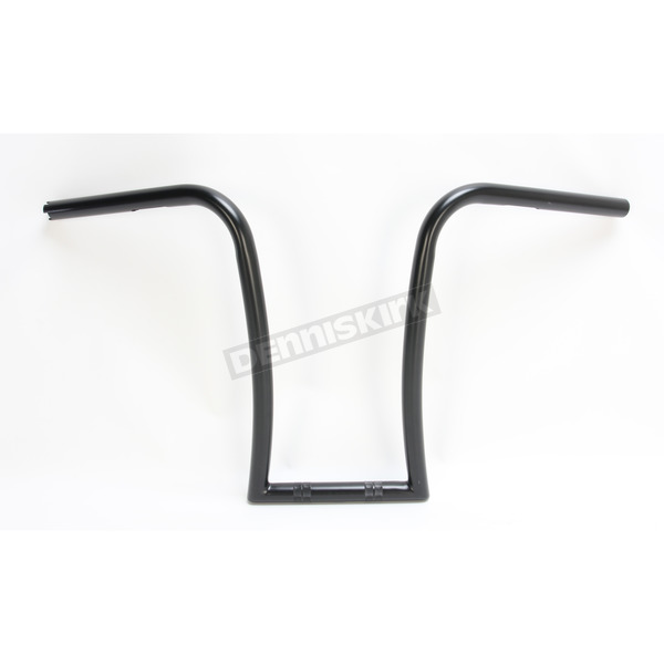 Nash Motorcycle Co. Black 16 in. Midget Gimp Handlebar - 16MBDKT