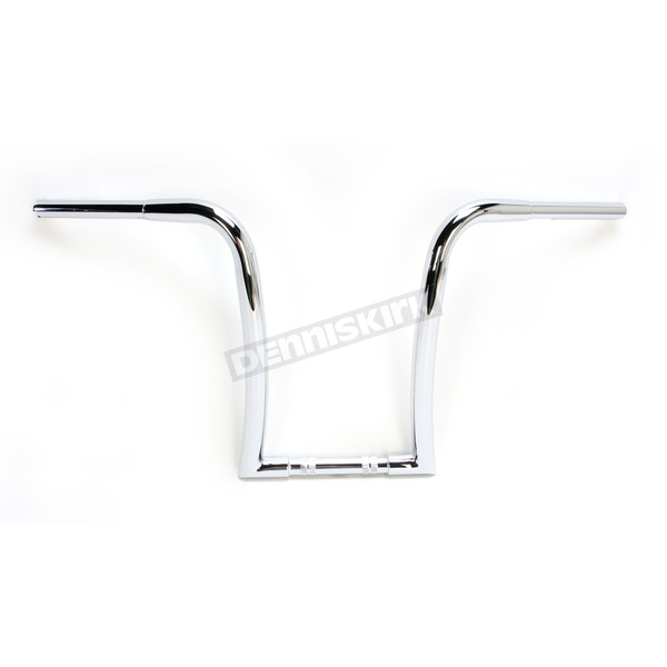 Nash Motorcycle Co. Chrome 16 in. Pudgy Gimp Hanger Handlebar - 16PCHDKT