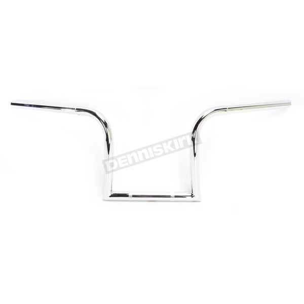 Nash Motorcycle Co. Chrome 10 in. Gimp Hangers Handlebars - 10IGCHDK