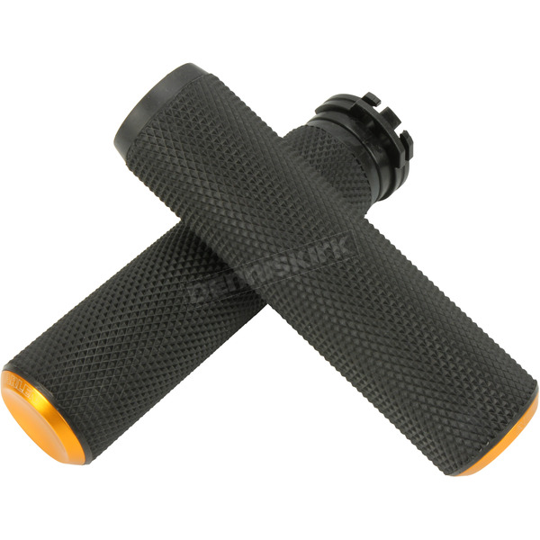 Gold Fusion Knurled Grips - 07-337