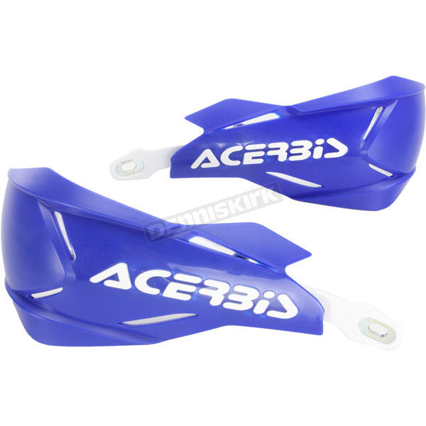 Acerbis Blue/White X-Factory Handguards - 2634661006