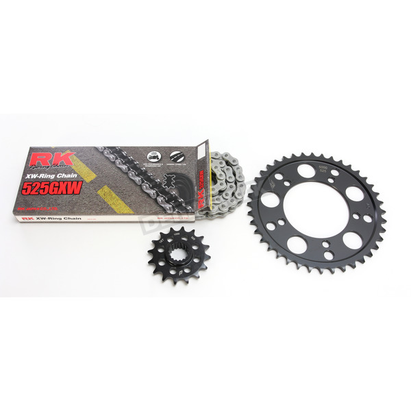 RK Natural Aprilla 525GXW Chain and Sprocket Kit - 8101-110E