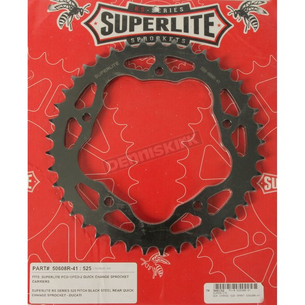 Quick Change 41 Tooth 525 Sprockets - BC-RANCR-BLK