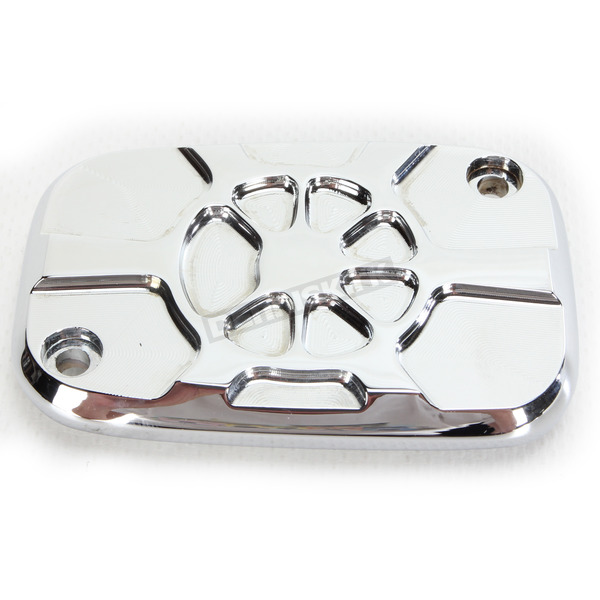 LA Choppers Chrome Brake Master Cylinder Cover - LA-F550-00
