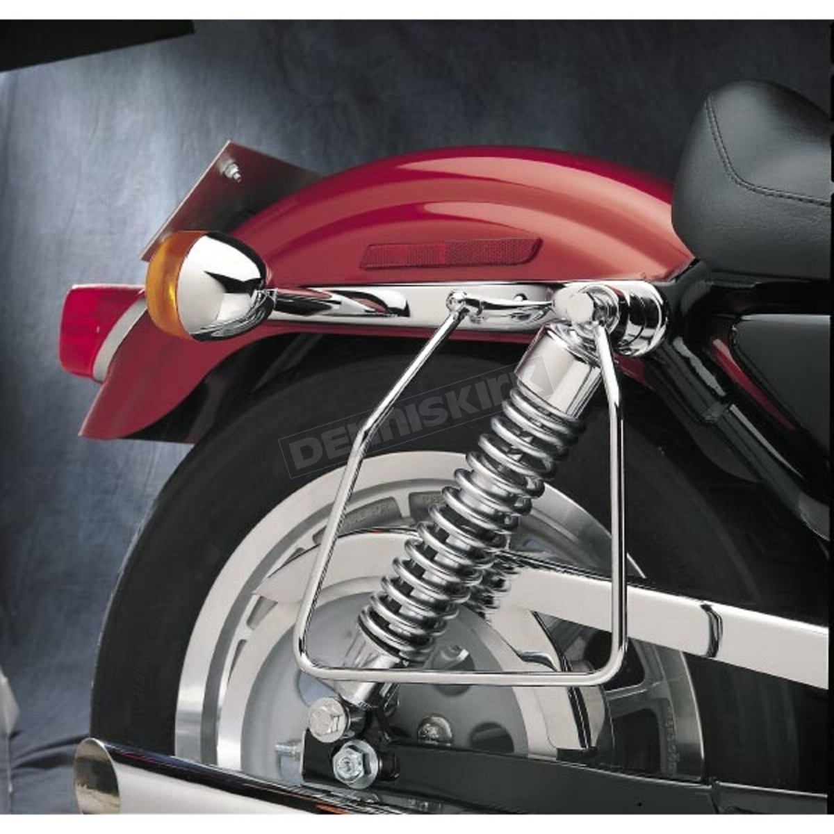 Drag Specialties Chrome Saddlebag Support ckets - DS-110852 ...