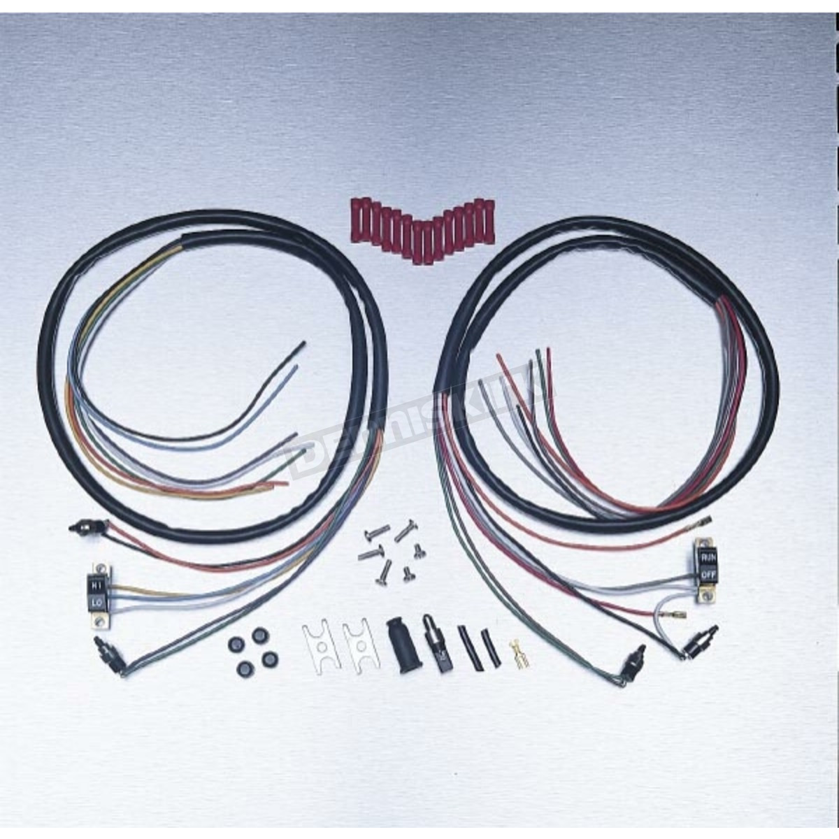 ds305202 drag specialties complete handlebar wiring harness ds 305202 Drag Specialties Motorcycle Parts Catalog at gsmportal.co