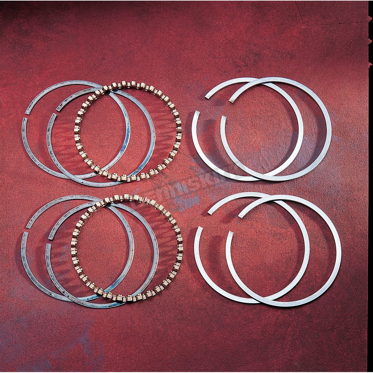 Standard Bore 2M6164 Hastings Moly Ring Set