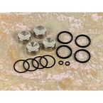 Front/Rear Caliper Seal Kit with Pistons - DS-530480