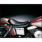 9 1/2 in. Wide Smooth Solo Silhouette Series Seat - LN-851
