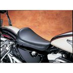 9 in. Wide Bare Bones Smooth Solo Seat w/Biker Gel - LG-006