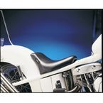 9 1/2 in. Wide Bare Bones Smooth Solo Seat w/Biker Gel for Rigid Frames - LG-009