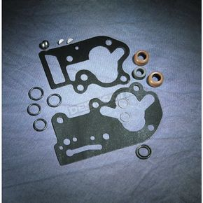 Eastern Motorcycle Parts Oil Pump Gasket/Seal Set with Paper Gaskets - 92-FLH