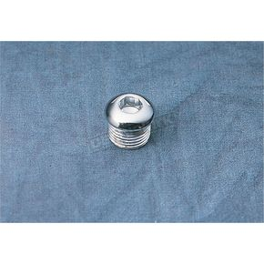 Chrome Timing Plug/Oil Tank Drain Plug - DS-190785