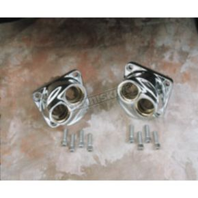 Drag Specialties Chrome Lifter Blocks - DS194054