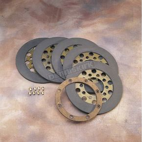 Drag Specialties Dry Friction Plate Set - DS-223735