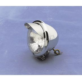 Drag Specialties Spotlight w/ H-3 55W Halogen Bulb-4 1/2 in. - DS-280055