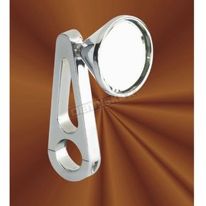 Jay Brake Chrome Billet Clamp-On Mirror - 8-12