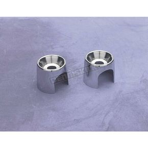 Drag Specialties Chromed Shock Top Stud Covers - DS-310012