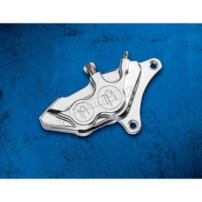 Performance Machine Chromed Differential Bore 4-Piston Front Caliper, Right-Hand - 0053-2920-CH