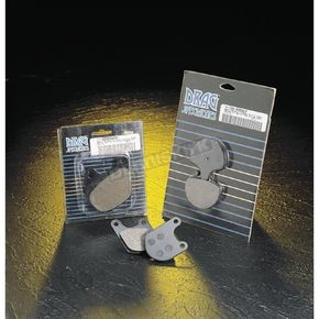 Drag Specialties Semi Metallic Brake Pads - 1201-1609