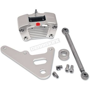 GMA Engineering Custom 2-Piston Rear Classic Chrome Brake Caliper for Rigid Frames w/10 in. Rotor - GMA-R10C