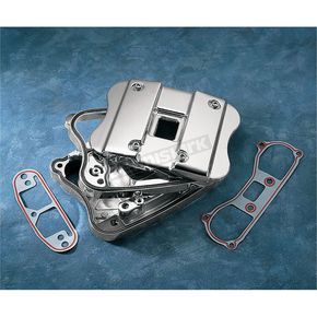 Drag Specialties Chrome Rocker Box Cover Kit - DS-376512