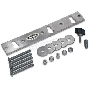 Pingel Removable Wheel Chock Mount Plate Kit for Corrugated Floors - WCTBM