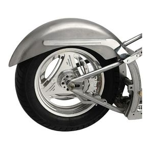 Russ Wernimont Designs Longshot 8.5 in Wide Wernimont Rear Fender for Swingarm Frames - 380358