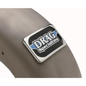 Drag Specialties Chrome Large Radius License Plate Mount - DS-720192