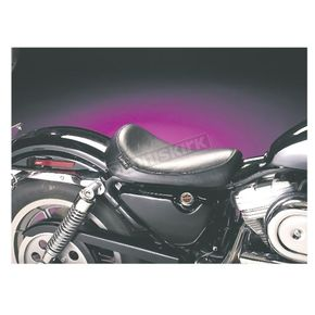 LePera 9 1/2 in. Wide Smooth Solo Silhouette Series Seat - L-856