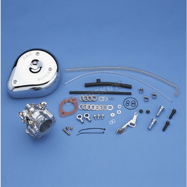 S&S Cycle 1 7/8 in. Super E Carb Kit for Models w/o Manifold - 11-0442