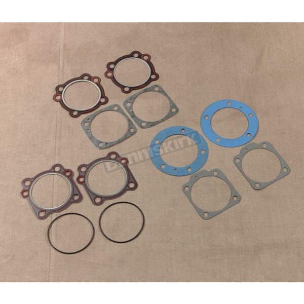 Genuine James 3 5/8 in. Big Bore Cylinder Head/Base Gaskets - 16770-66-S