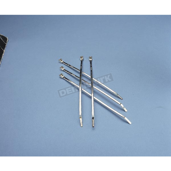 Drag Specialties 4 in. Nylon Cable Ties - DS-193048