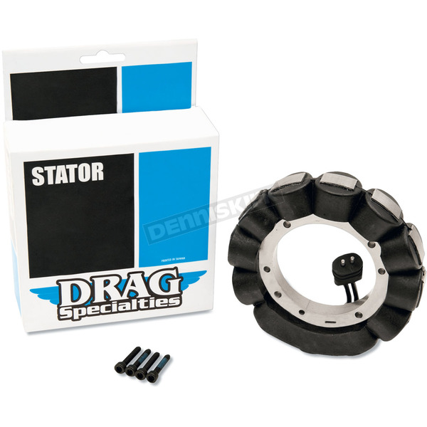 Drag Specialties 2-Wire Alternator Stator-Coated - DS-195036