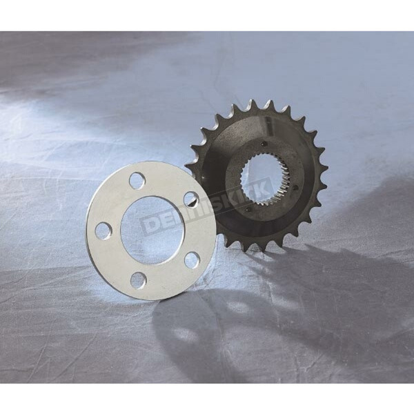 Drag Specialties Off-Set Sprocket Kit with Spacer - DS-199497