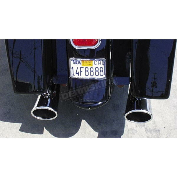 Samson Rolled Thunder 28 in. Oval Mufflers - M-136