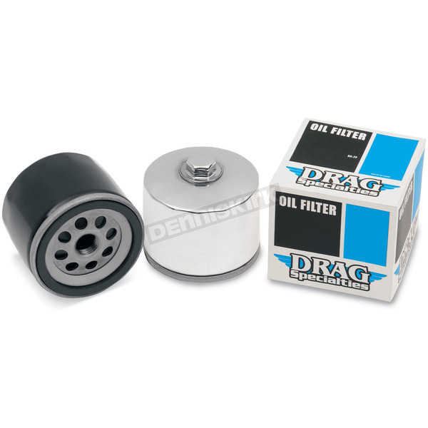 Drag Specialties Black Spin-On Oil Filters - DS-275206