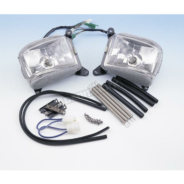 Show Chrome Driving Lights - 52-595