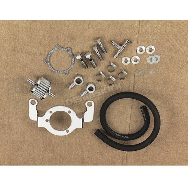 Drag Specialties Air Cleaner Breather Adapter Kit - DS-289082