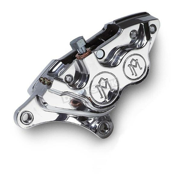 Performance Machine Direct Bolt-On 4-Piston Polished Left Caliper - 0053-2919-P