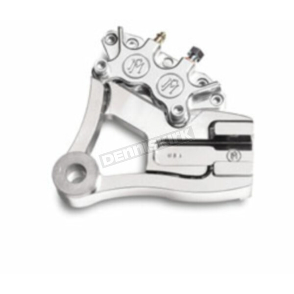 Performance Machine Rear 125x4R Chrome Caliper Kit for 11 1/2 in. Rotor - 1279-0052CH