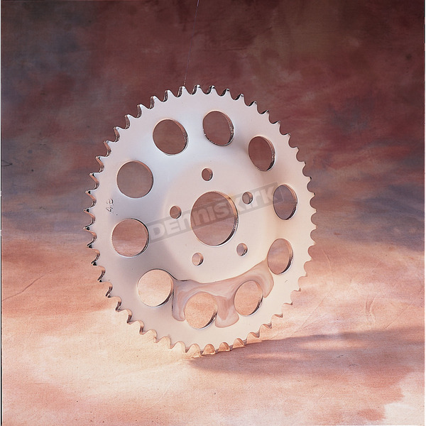 Chrome Rear Wheel Sprocket - 1210-0957