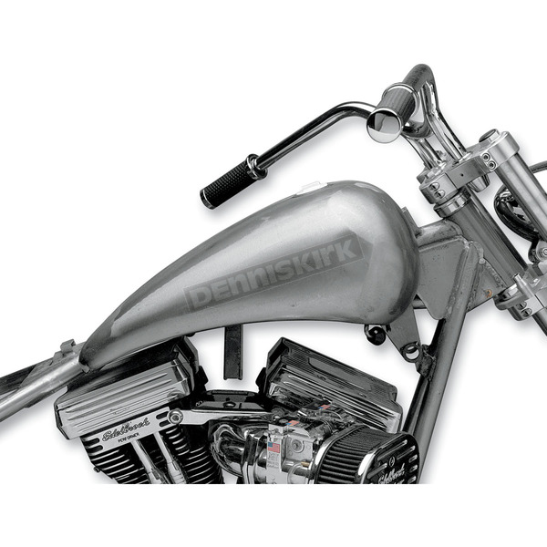 Drag Specialties One-Piece Smooth-Top Extended Gas Tank with Single Screw-In Cap - DS-390071