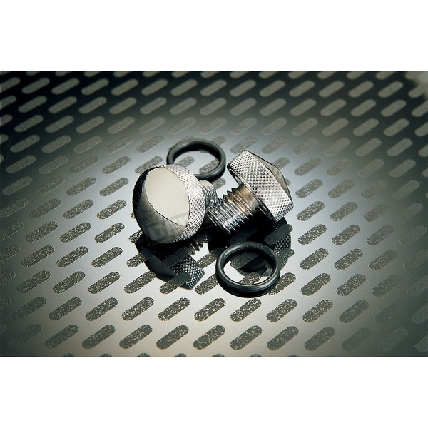 Drag Specialties Chrome Knurled Bolt Kit - DS-490046
