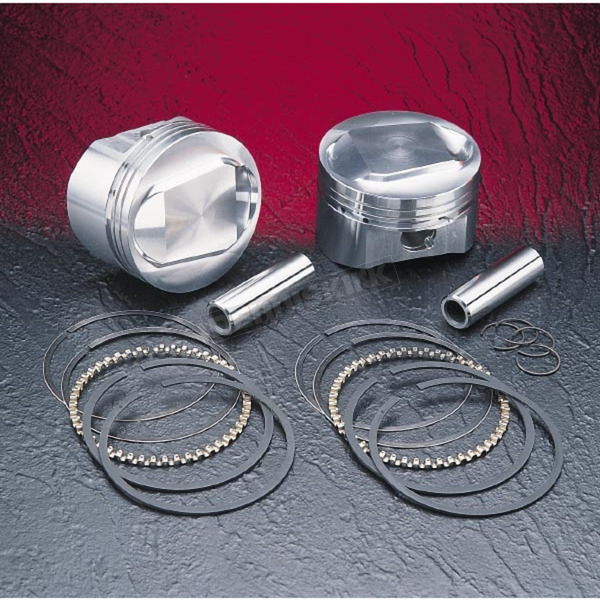 Wiseco High-Performance Forged Piston Kit - 3.885 in. Bore/10.5:1 Ratio - VT2711