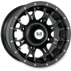14 in. Black Diablo Wheel - 993-40B