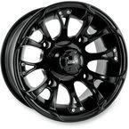 12 in. Black Nitro Wheel - 989-10B