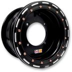 Black 12x7 Ultimate-UT Wheel - UL12074336BLK