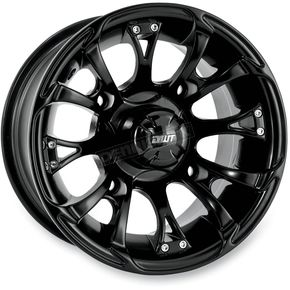 DWT Douglas Wheel 12 in. Black Nitro Wheel - 989-45B